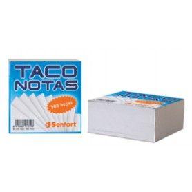 TACO DE NOTAS 10X10 500H. BLANCO