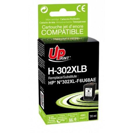 CARTUCHO COMPATIBLE UPRINT HP 302 XL NEGRO