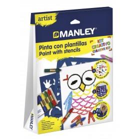 MANLEY ARTIST PINTA CON PLANTILLAS