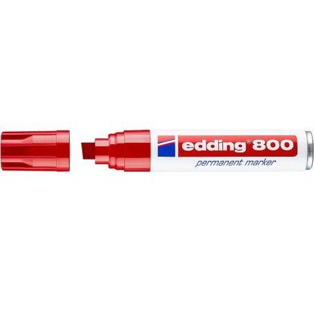 EDDING 800 PERMANENT MARKER ROJO