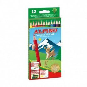 ALPINO 12 LAPICES ALPINO CARTON 3MM