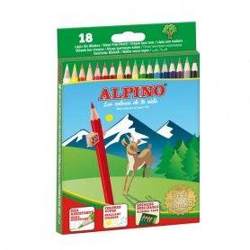 ALPINO 18 LAPICES ALPINO CARTON