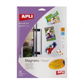 PAPEL MAGNETICO INKJET 8 HOJAS