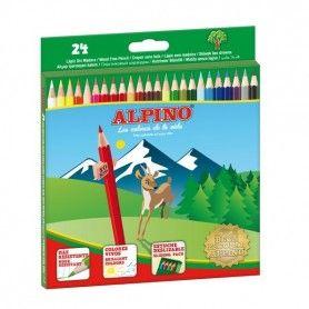 24 LAPICES COL ALPINO CARTON 3MM