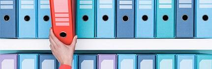 Cómo organizar un archivo de trabajo