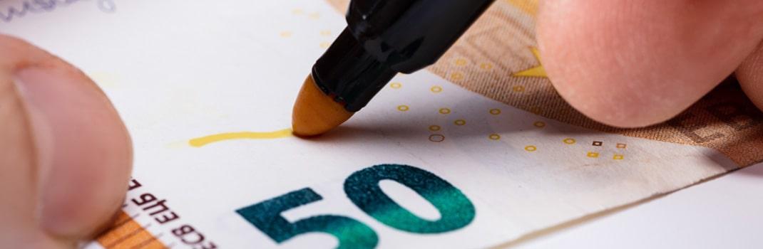 Protege tu empresa del fraude: detectores de billetes y cajas de seguridad