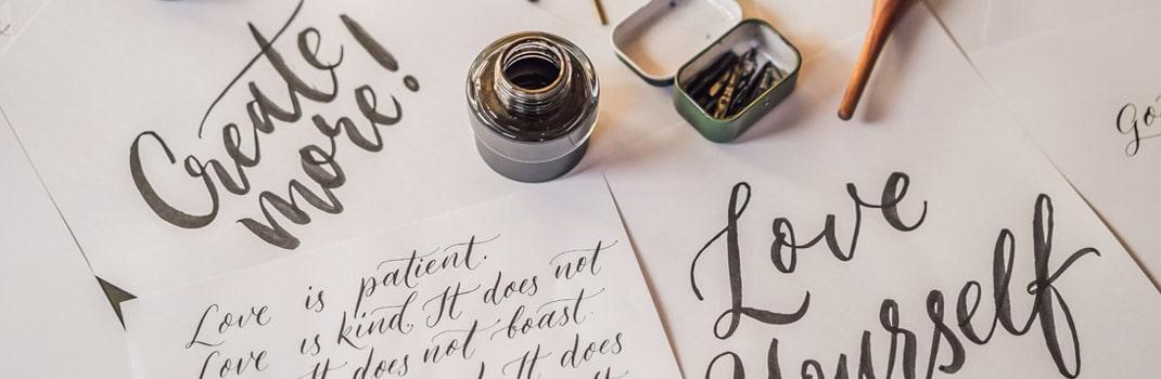 Lettering, qué es y cómo empezar