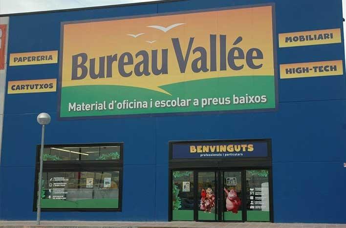 Bureau Vallée <p>Especialistas en papelería, material de oficina y escolar, cartuchos de tinta, tóners e informática. Mobiliario y sillas de oficina. Copistería</p>