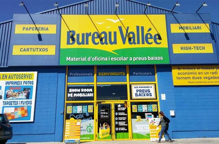 Bureau Vallée <p>Especialistas en papelería, material de oficina y escolar, cartuchos de tinta, tóners e informática. Mobiliario y sillas de oficina. Copistería</p>  <p></p>