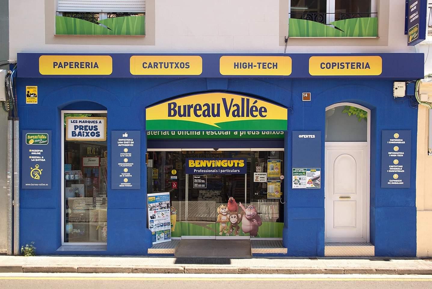 Bureau Vallée <p>Especialistas en papeler&iacute;a, material de oficina y escolar, cartuchos de tinta, t&oacute;ners e inform&aacute;tica. Mobiliario y sillas de oficina. Copister&iacute;a</p>