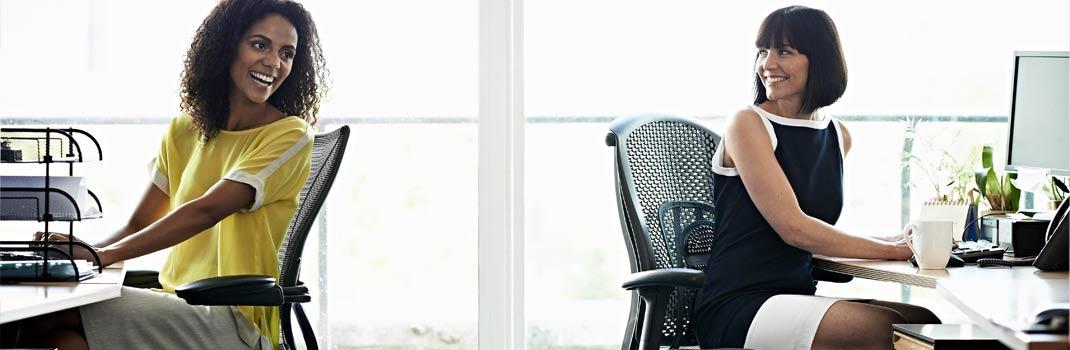 Como escoger sillas para tu oficina: Deja de darle vueltas